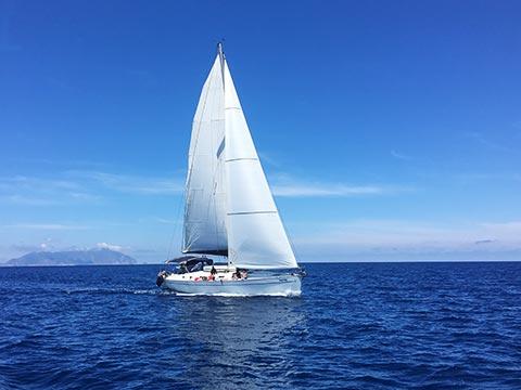 egadi in barca a vela