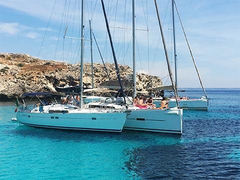 flottiglia barca a vela