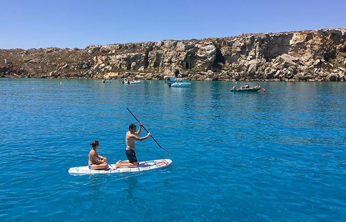 Weekend in barca a vela alle isole egadi goditi il relax for Parti di una barca a vela
